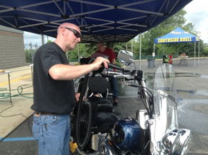 How to properly wash your Harley-Davidson motorcycle