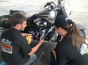 How to properly polish your Harley-Davidson motorcycle