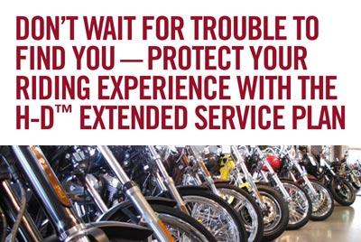 Motorcycle Service Plan